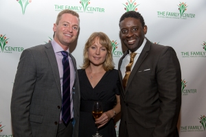 Joel (far left) with friends at TFC Turns 20! our 20th Anniversary celebration last year
